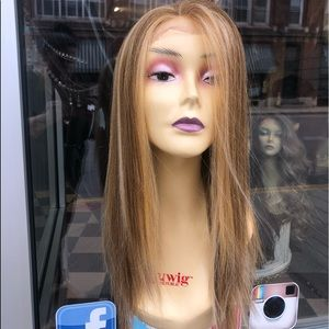 Accessories - Wig blonde mix Freepart swisslace lacefront 2019